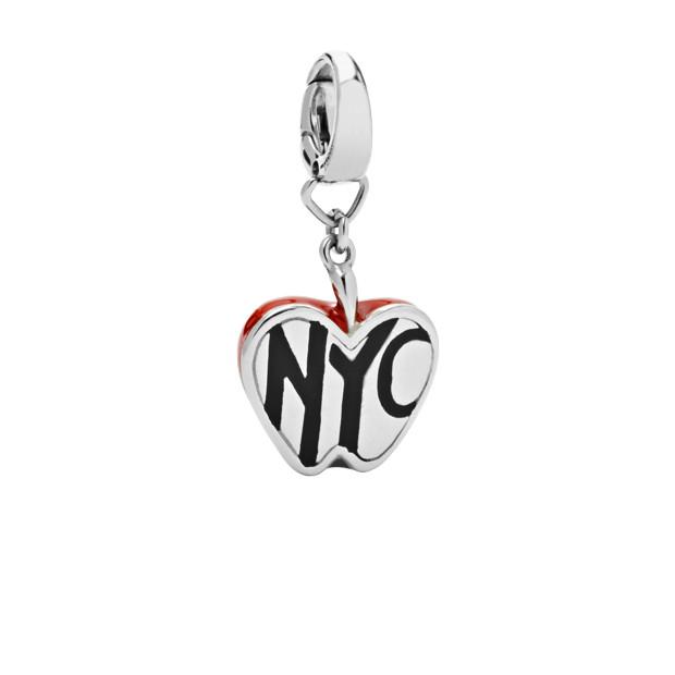 NYC Red Apple Charm