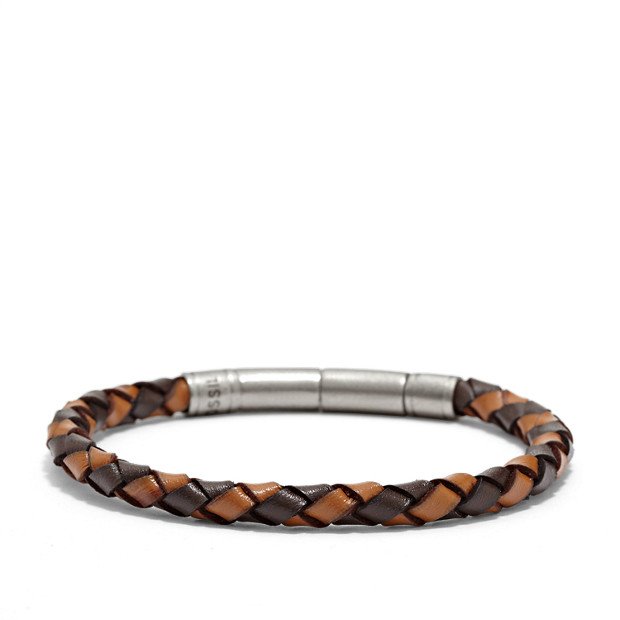 Braided Bracelet - Brown