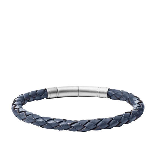 Braided Bracelet - Blue