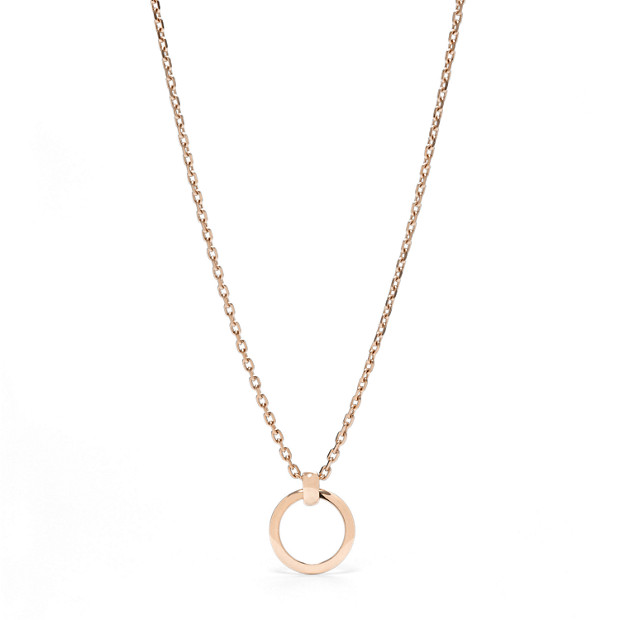 Short Rose Gold Chain