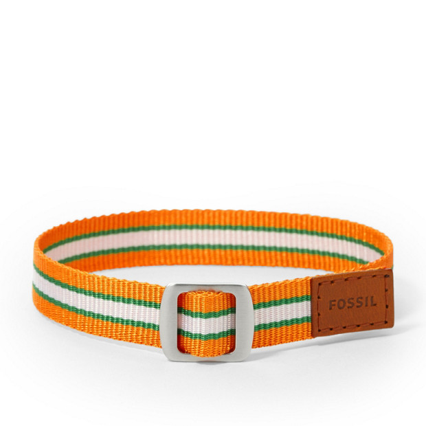 Field Strap Bracelet - Orange/Green