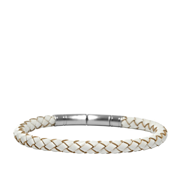Braided Bracelet - White