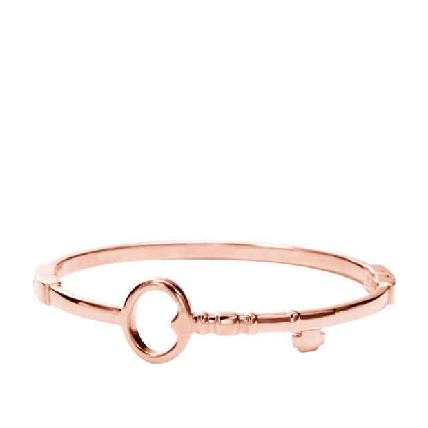 Key Bangle - Rose