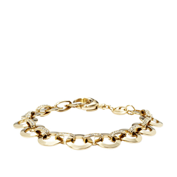 Glitz Charm Starter Bracelet - Gold