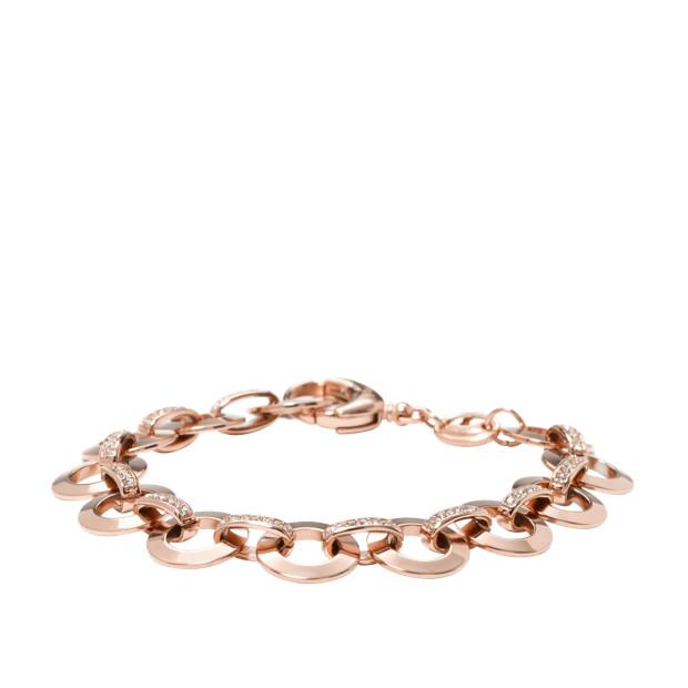 Glitz Charm Starter Bracelet - Rose