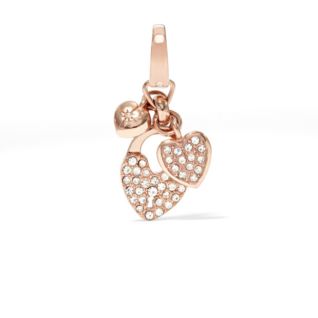 Heart Cluster Charm