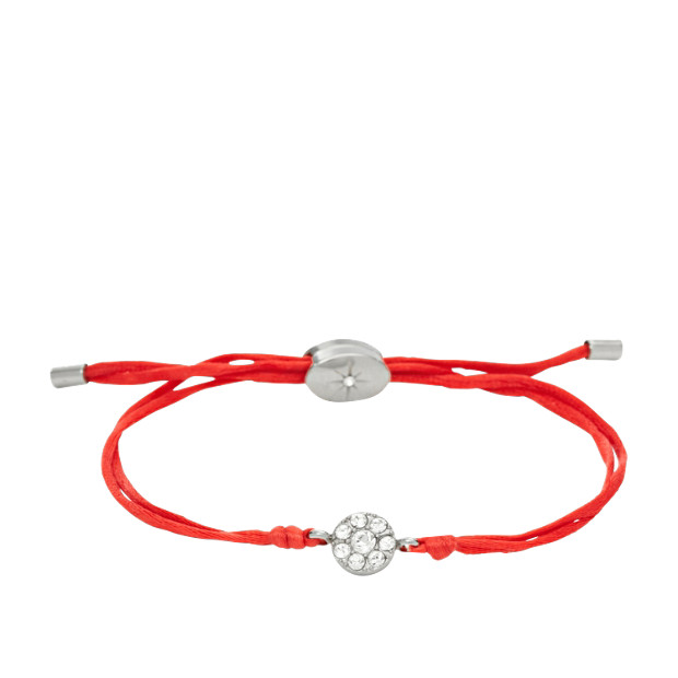 Dainty Disk Wrap- Red