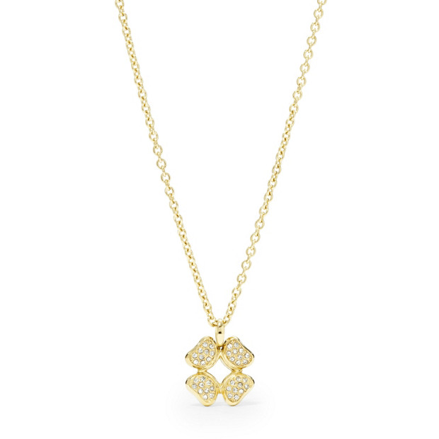 Signature Flower Necklace- Gold -Tone