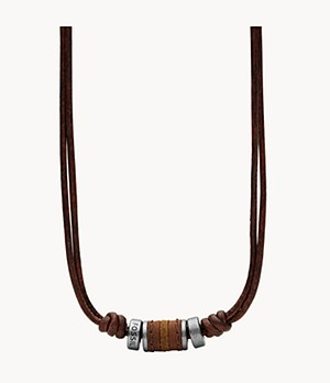 Brown Rondell Necklace