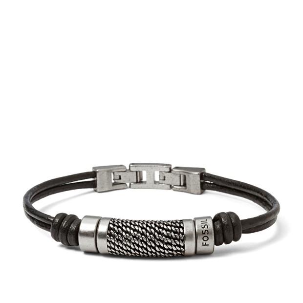 Bracelet perle texturée
