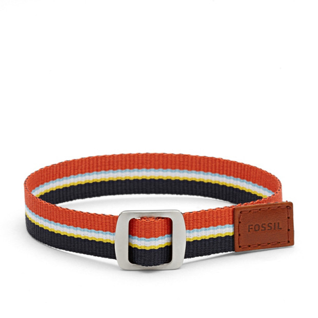 Field Strap Bracelet- Blue and Red