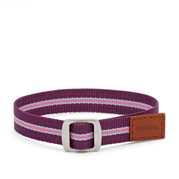 Bracelet lanière - Violet