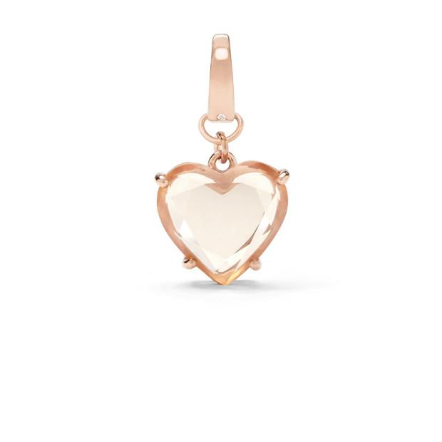 Heart Stone Charm