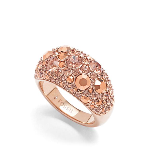 Glitz Ring - Rose