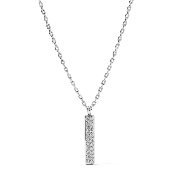 Glitz Bar Pendant Necklace