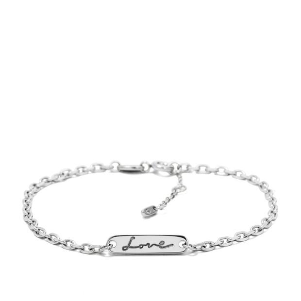 Love Plaque Bracelet