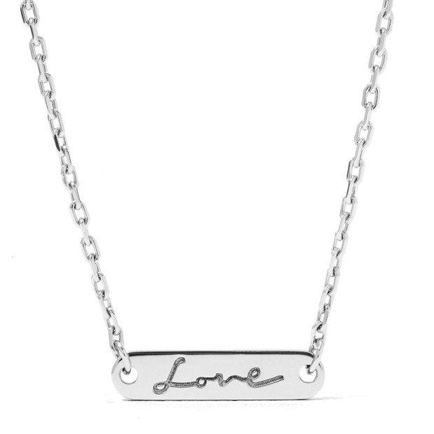 Love Plaque pendant