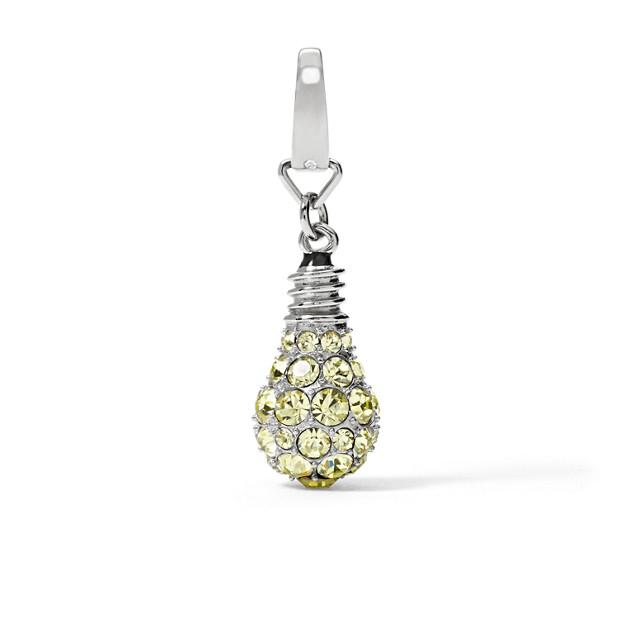 Vintage Light Bulb Charm