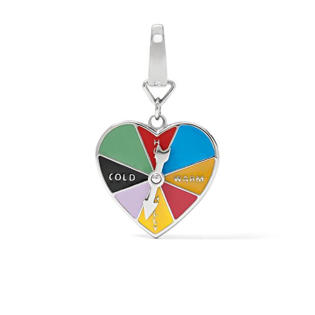 Heart Wheel Charm