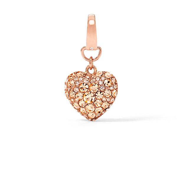 Puffy Heart Charm