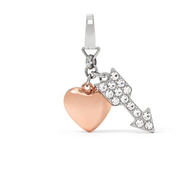 Heart and Arrow Charm