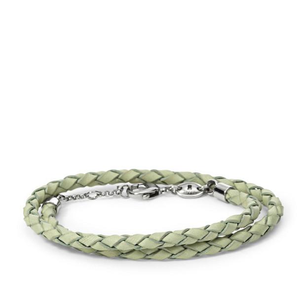 Braided Double Wrap Bracelet