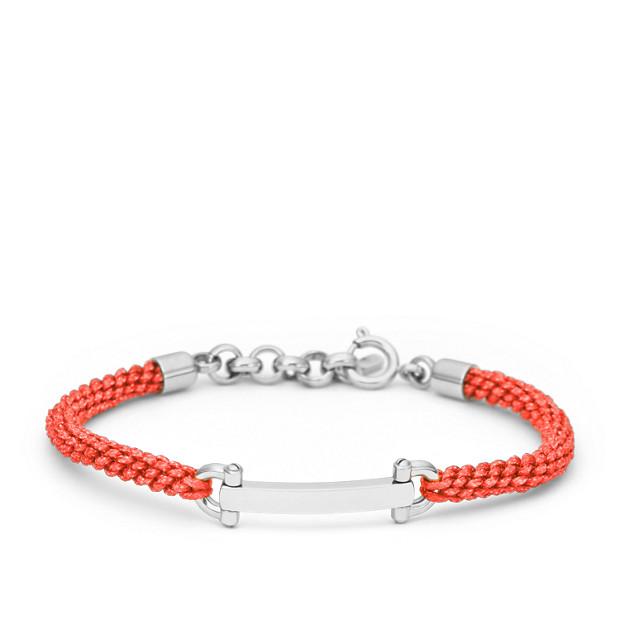 D-Link Macramé Bracelet- Orange