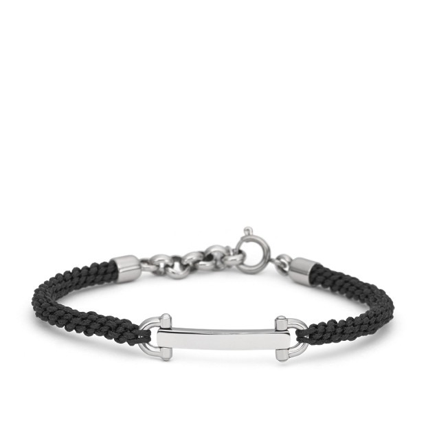 D-Link Macramé Bracelet- Black