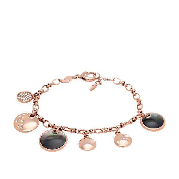 Bracelet à breloques façon médaillons