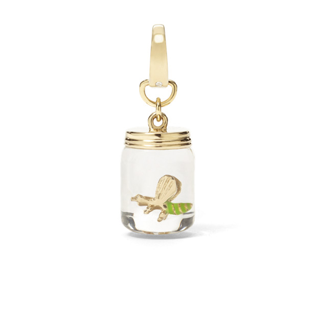 Bug in a Jar Charm