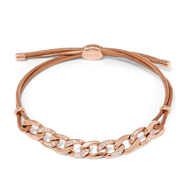 Glitz Curb Chain Starter Bracelet
