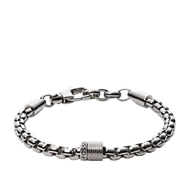 Textured Rondel Bracelet