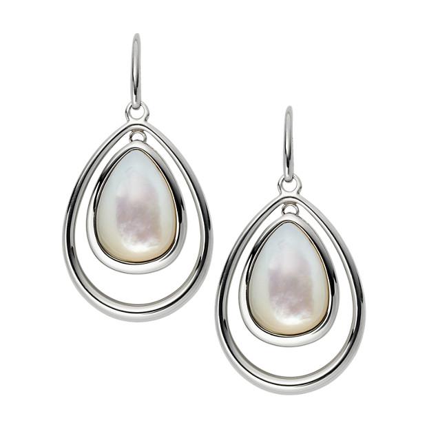 Orbital Drop Earrings