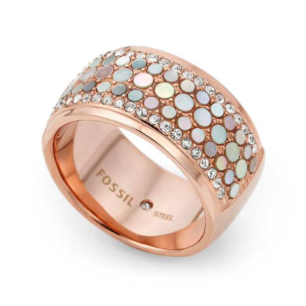 Damen Ring - Mother-of-Pearl Ring