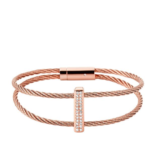 Pavé Flex Wire Bracelet
