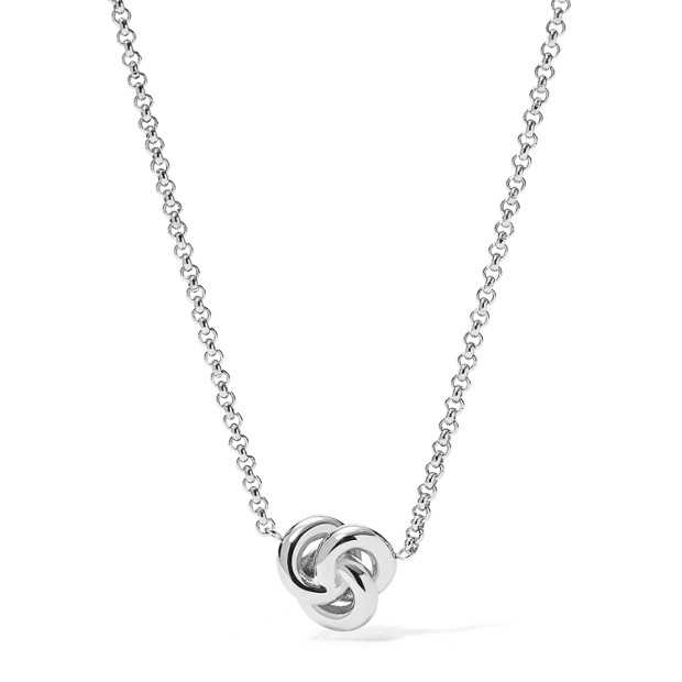 Damen Halskette - Knot Pendant