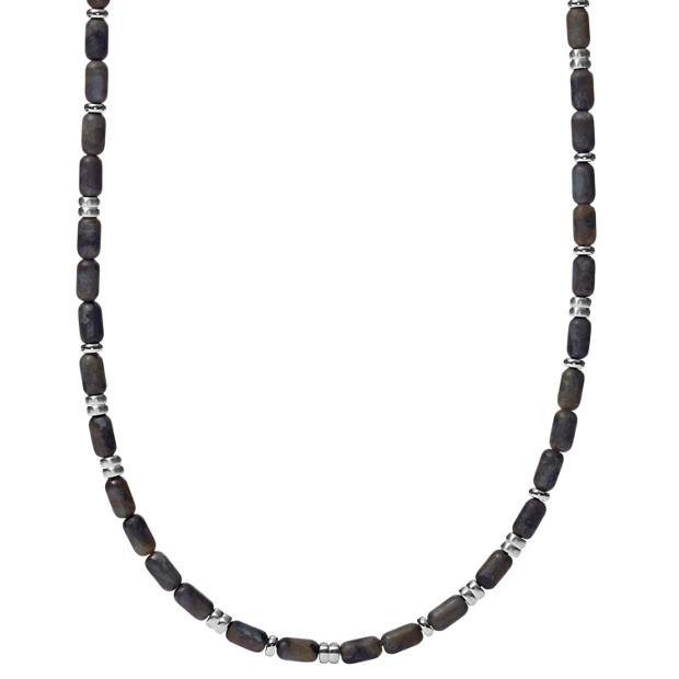 Satin Beaded Necklace