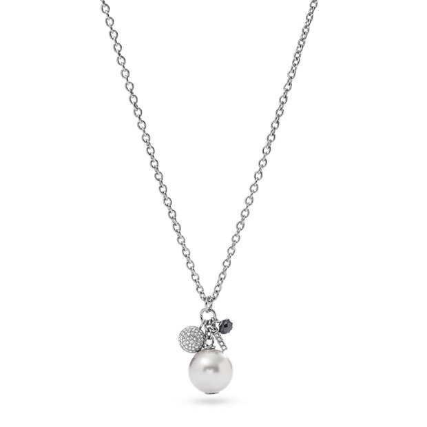 Sautoir avec pendentif perles