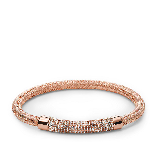 Damen Armband - Plaque Cord