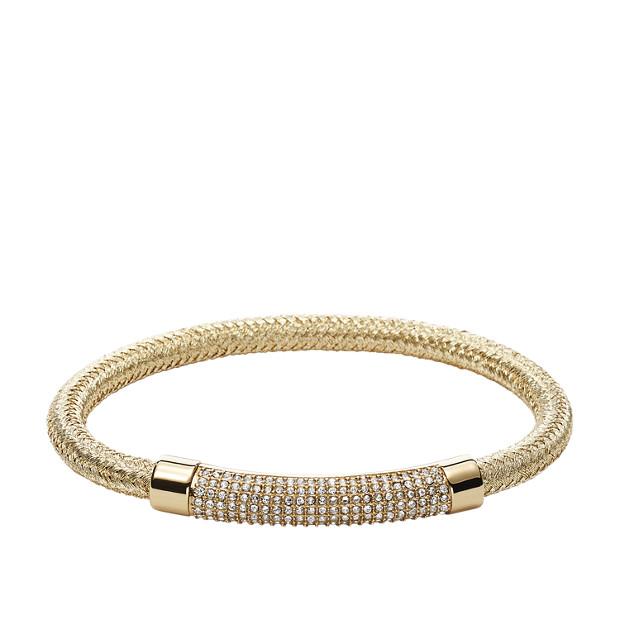 Damen Armband - Plaque Cord