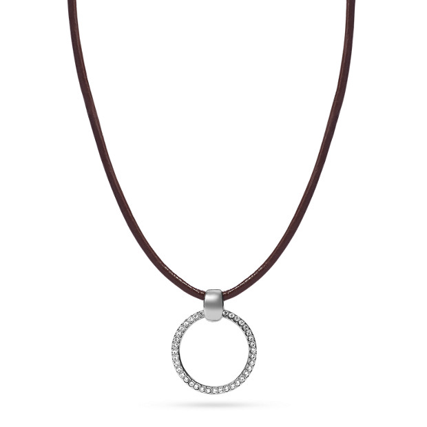 Charm Starter Leather Necklace