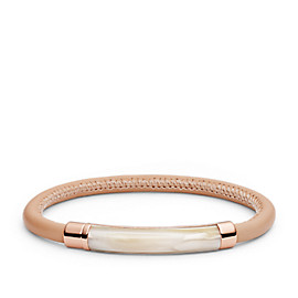 Shimmer Horn Cord Bracelet