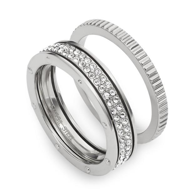Glitz Coin Edge Ring