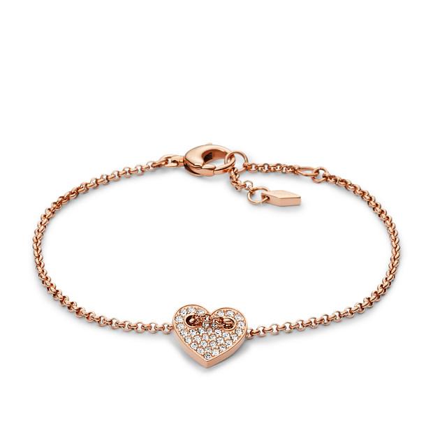 Damen Armband - Glitz Heart