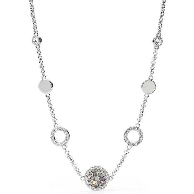Damen Halskette - Vintage Glitz Crystal Necklace