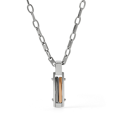 Herren Halskette - Tri-tone Necklace
