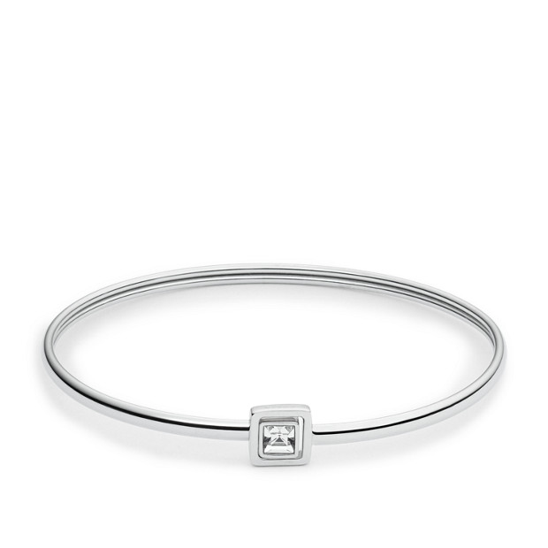 Iconic Glitz Silver-Tone Bracelet