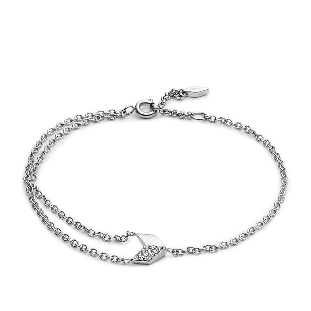 Damen Armband - Vintage Glitz Chevron