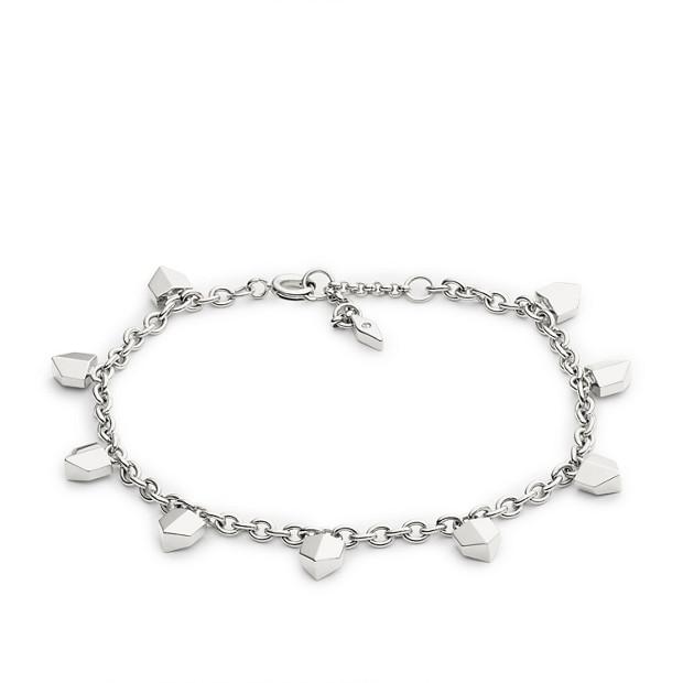 Vintage Glitz Chevron Bracelet