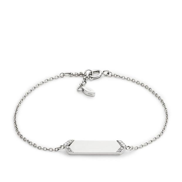 Vintage Glitz Plaque Bracelet